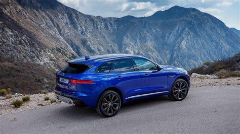 Jaguar F Pace Wallpaper by Blue Jaguar F Pace 2017 Car Hd Wallpaper Hd Wallpapers