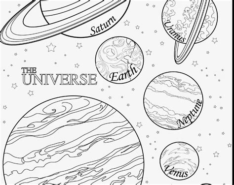 Solar System Planets Drawing At Getdrawings.com