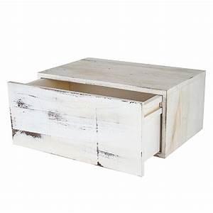 Shabby Chic Möbel Weiß : shabby chic wandregal dinant 21x46x30cm weiss ~ Markanthonyermac.com Haus und Dekorationen