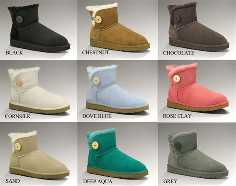 all ugg colors