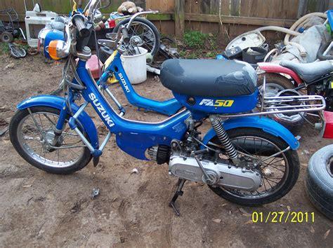 Suzuki Fa50 For Sale by Re For Sale 1989 Suzuki Fa50 Moped In Ga Moped Army