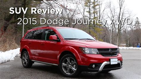 dodge journey awd suv review drivingca youtube