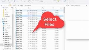 Copy File Names In A Folder