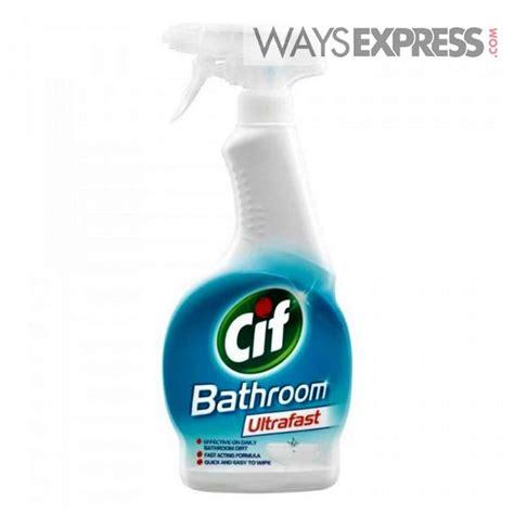 Cif Bathroom Ultrafast Cleaner 450ml