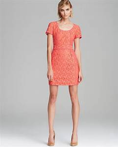 Asos Size Chart Dresses Marc By Marc Jacobs Dress Luna Lace In Red Vibrant Red