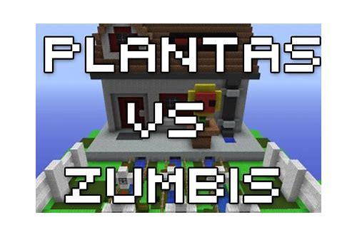 minecraft plantas vs zumbis textura pacote baixar gratis