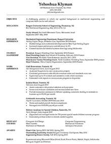 resume format student engineers mechanical engineering student resume http jobresumesle 946 mechanical engineering