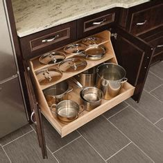 kitchen cabinet roll out trays kraftmaid kitchen innovations and storage solutions 7937