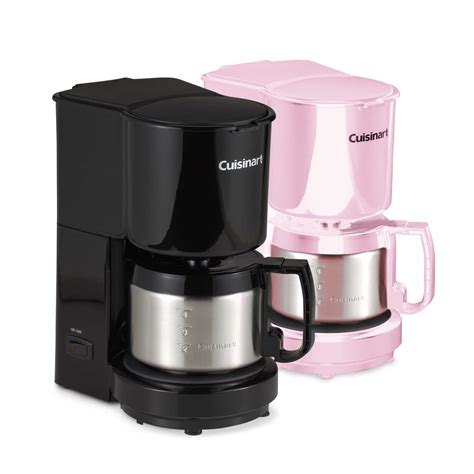 If you are looking to buy a coffee maker for small companies, the idea is to opt for pods. Cuisinart® 4-Cup Coffee Maker with Stainless Steel Carafe ...
