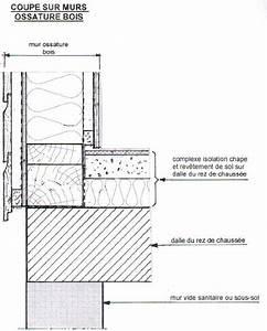 Epaisseur Mur Ossature Bois : l 39 isolation dans les constructions batiburo ~ Melissatoandfro.com Idées de Décoration