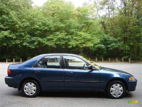1992 Harvard Blue Pearl Honda Civic Ex Sedan 1884597
