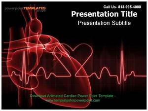 animated cardiac powerpoint template With cardiovascular powerpoint template free