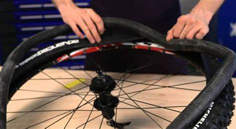 chambre à air vélo route michelin montage pneu vtt avec chambre à air