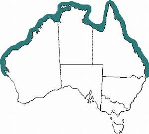 Distribution Of Australian Stonefish Species  Synanceia Spp