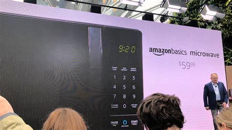 Amazon Unveils An Alexa-powered Microwave