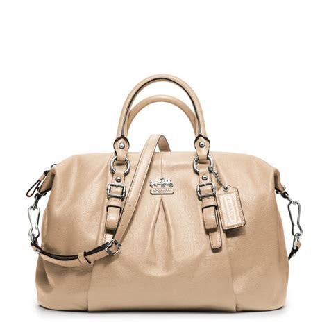 lyst coach madison leather juliette  natural