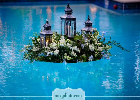 pool decorations gorgeous pool decorations for weddings belle the magazine
