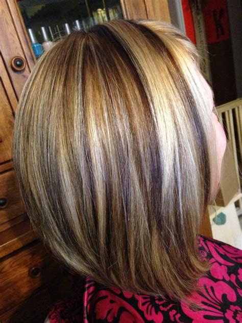 contrasting hair colors foils saras hair creations pinterest hair coloring dimensional