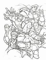 Fighter Coloring Street Pages Ryu Awesome Shoryuken Thread Fight Printable Getcolorings Streetfighter Marvel Getdrawings sketch template
