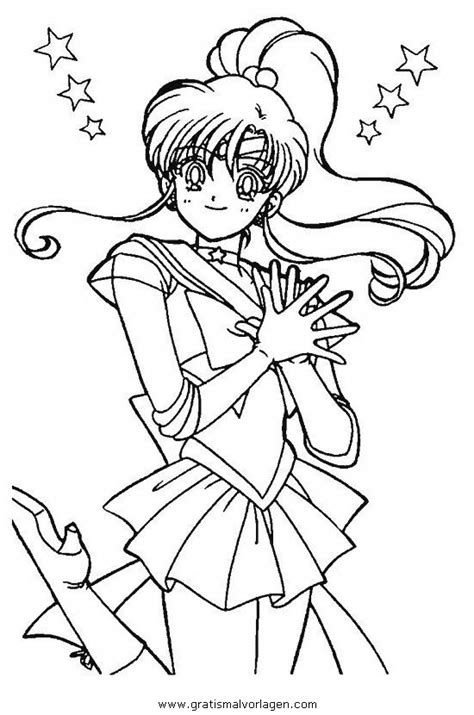 sailor moon  gratis malvorlage  comic