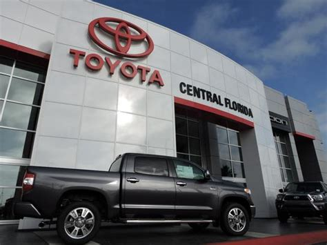 Central Florida Toyota by Central Florida Toyota Car Dealership In Orlando Fl 32837