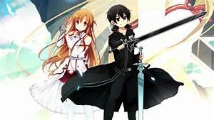 Sword Art Online Kirito And Asuna - WallDevil