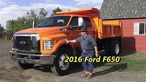 First Drive 2016 Ford F650 Crew Cab Dump Bed