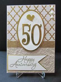 Anniversary card-50th