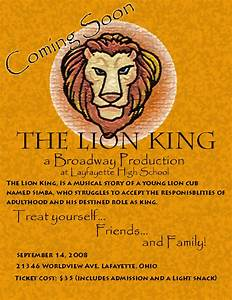 The Lion King: Musical Poster by EzraVex on deviantART