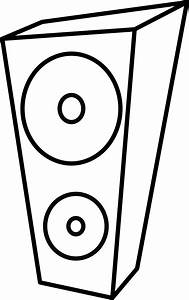 Speakers Clipart Black And White - ClipArt Best