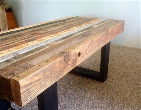 industrial style tv lift diy wood pallet coffee table woodworking projects
