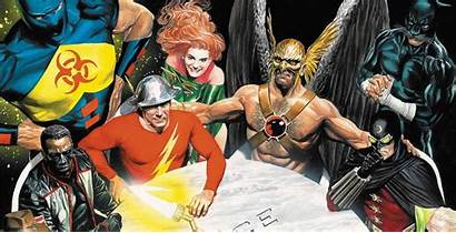 Justice Society Jsa Ross Alex America League