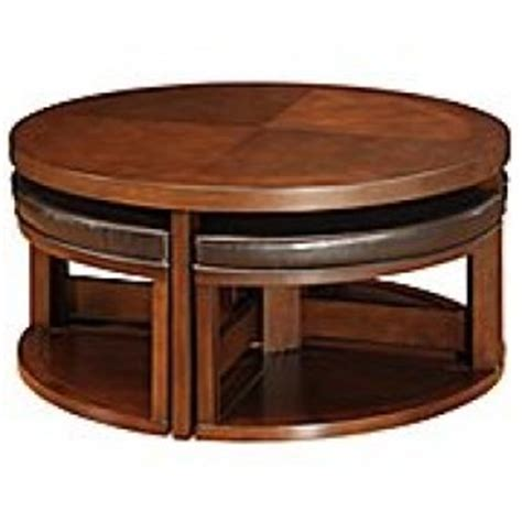 coffee table with pull out seats coffee table round coffee table with seats underneath