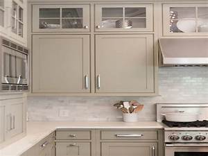 Taupe kitchen cabinets kitchen cabinet paint color ideas for Kitchen colors with white cabinets with brushed nickel wall art