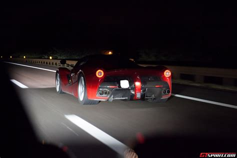 first ferrari video first ferrari laferrari high speed highway video