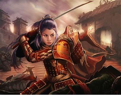 L5r Shiba Clan Phoenix Samurai Rings Female