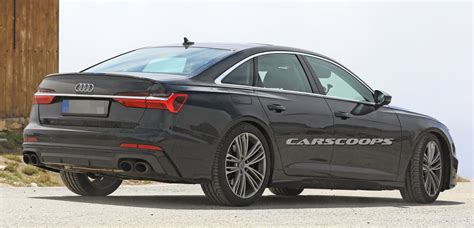 2019 Audi S6 all new 2019 audi s6 throws away most of its camo