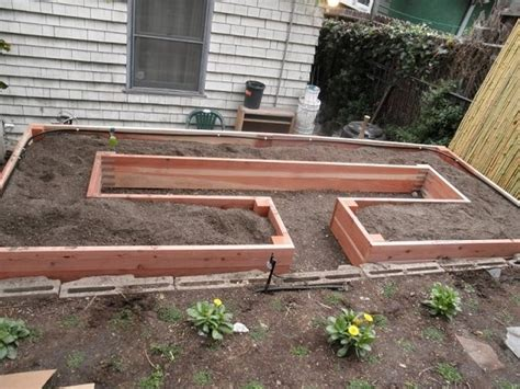 raised garden bed plans learn how to build a u shaped raised garden bed home