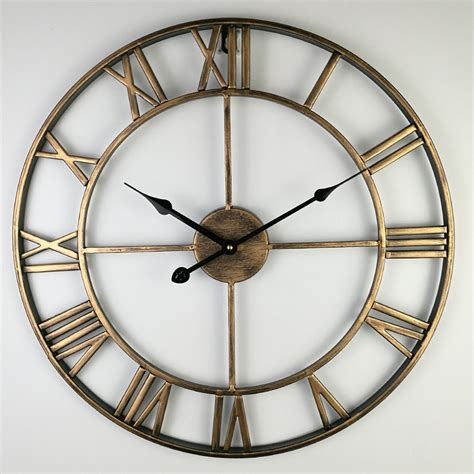 Decorative Living Room Wall Clocks by Vintage Large Wall Clock Modern Design Decorative Living