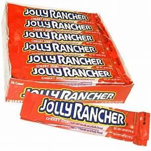 Cherry Jolly Rancher Sticks - 36ct | Candy Direct