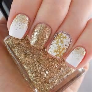 Elegant and amazing white gold nail art designs
