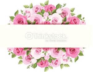 fondo con rosas rosadas vector eps 10 arte vectorial thinkstock