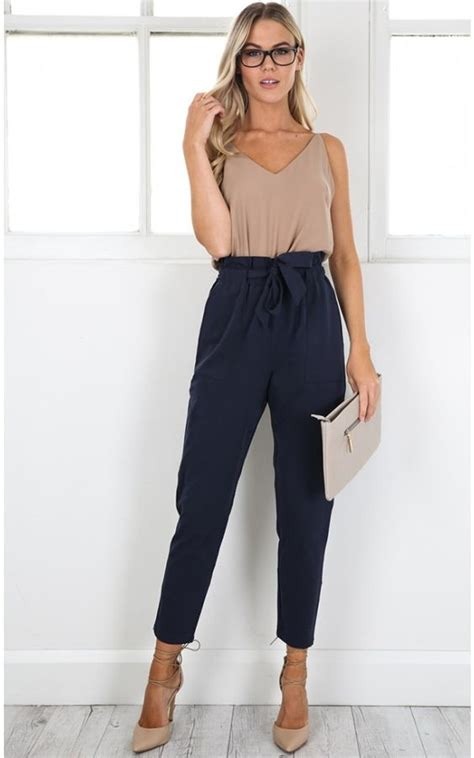 Work Up pants in navy | SHOWPO Fashion Online Shopping | Party/Date/Going Out Clothes ...
