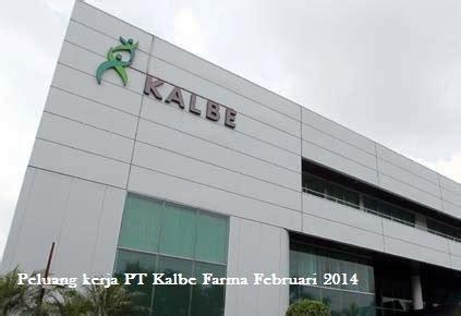 peluang kerja medical representative pt kalbe farma