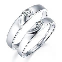 wedding bands for couples unique shape couples matching wedding band rings on silver jeenjewels