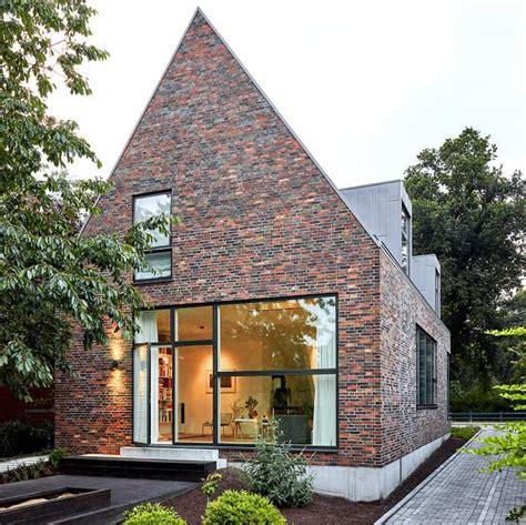 Moderne Puristische Häuser by Modernes Satteldachhaus Mit Backsteinfassade Sch 214 Ner
