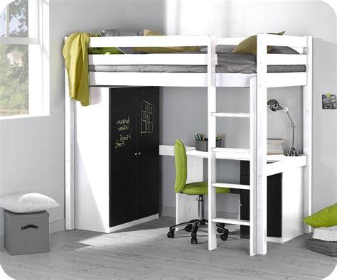 lit mezzanine armoire bureau armoire idées de