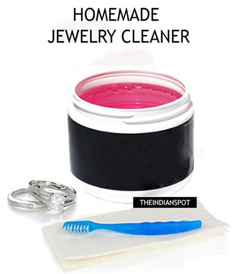 easy natural diy jewelry cleaner theindianspot
