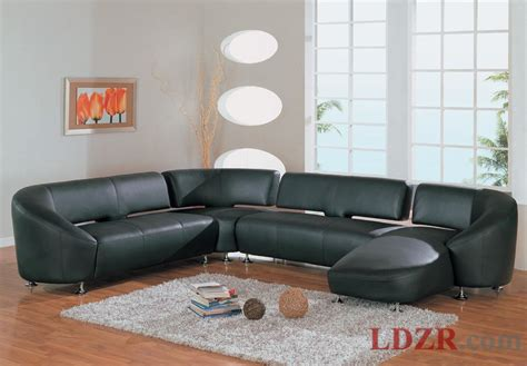 black sofa living room ideas modern black leather sofa in living room home design and