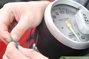 How To Install A Tachometer  8 Steps  With Pictures
